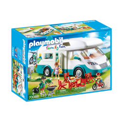 Playmobil 70088 Famille et camping-car