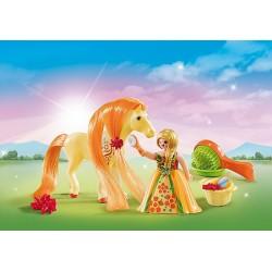 Playmobil 5656 Valisette Princesse et Cheval à coiffer
