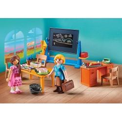 Playmobil 70121 Mademoiselle Kate Flores et salle de classe
