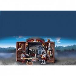 Playmobil 5637 Coffre Chevalier et Forgeron
